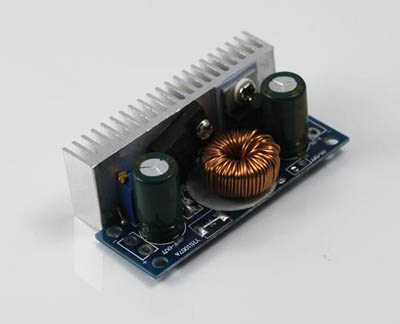 Step-up converter, output 5~30V adjustable, Max 70W